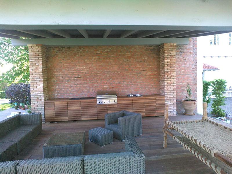 überdachung Für Außenküche : Einbauküchen außenküchen tischlerei wolfenbüttel