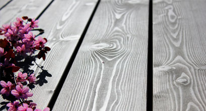 Terassen mit MOCOPINUS Holz Tischlerei Kassel & Daus